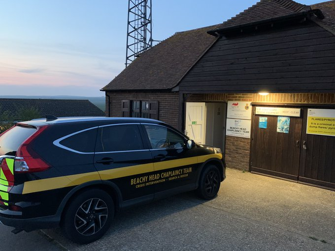 Showing appreciation for Beachy Head Chaplains