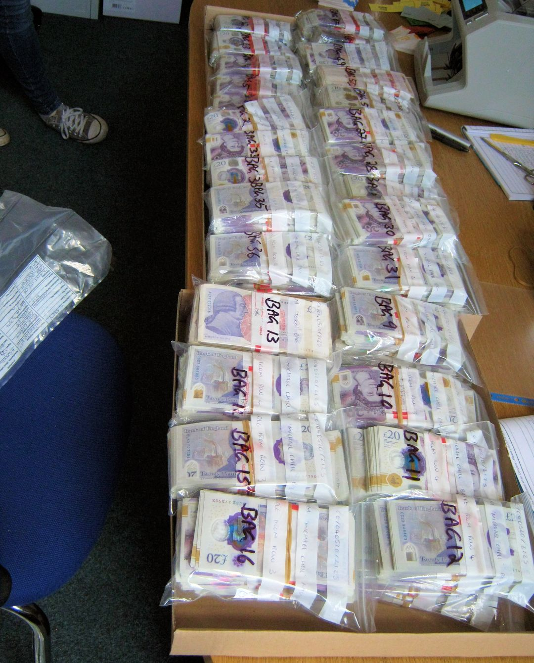 Surrey and Sussex Police support international operation targeting international serious and organised crime