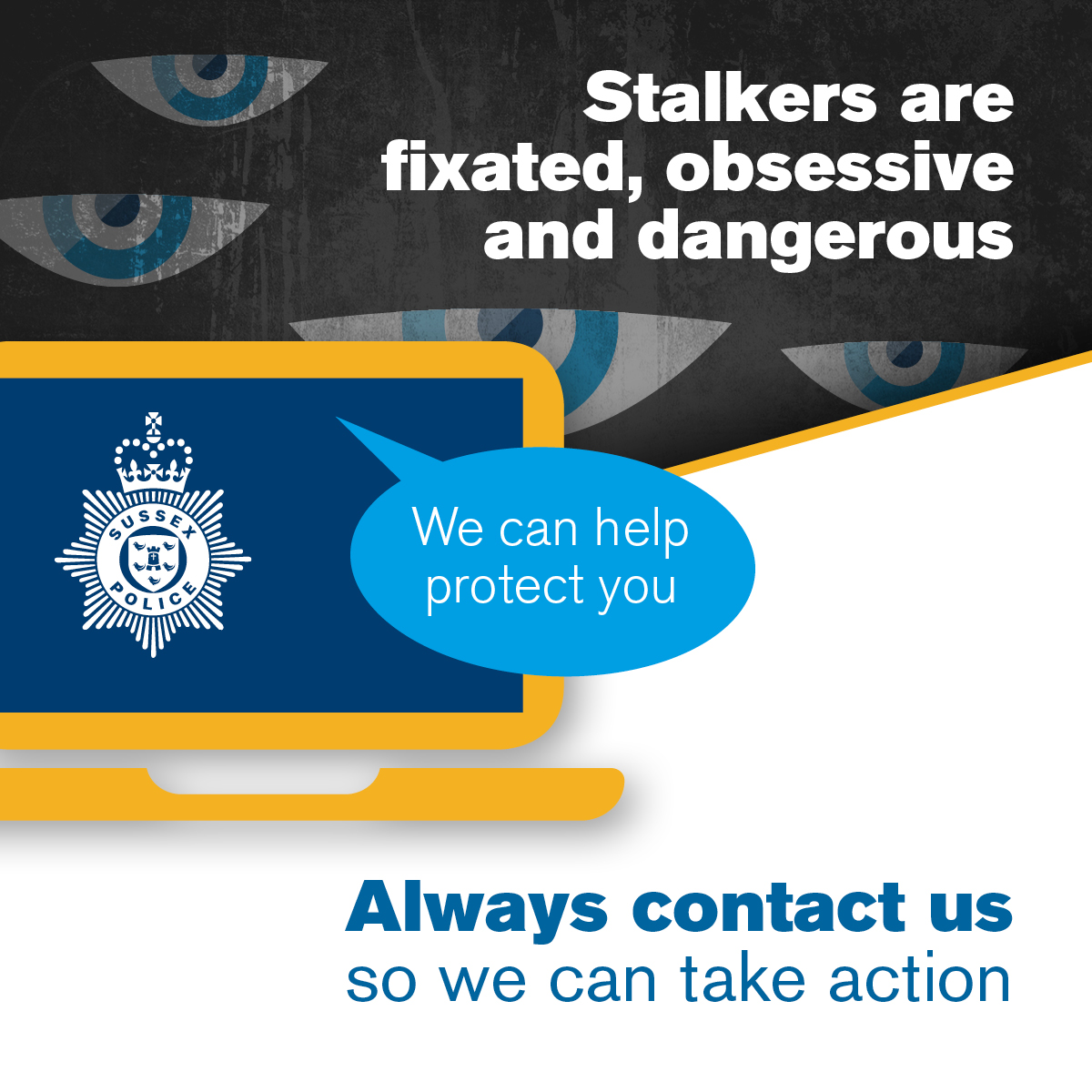 Sussex Police leading the way on Stalking Protection Orders