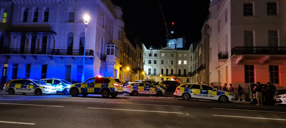UPDATE: Armed Police arrest man with a firearm in Brighton
