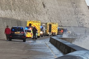 UPDATED: A major rescue operation is taking place off Pacehaven in East Sussex