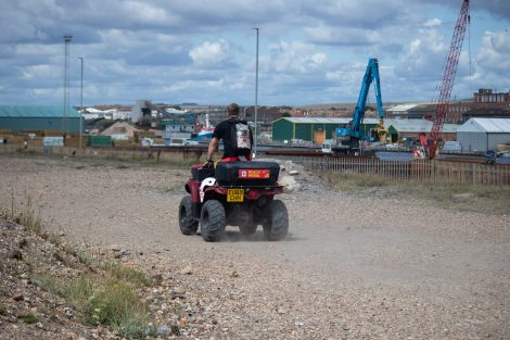 Multi Agency Search launched for Missing Kyaker off Hove