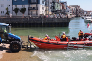 Sweltering temperatures kept the volunteer crew of Littlehampton RNLI Lifeboat Station busy
