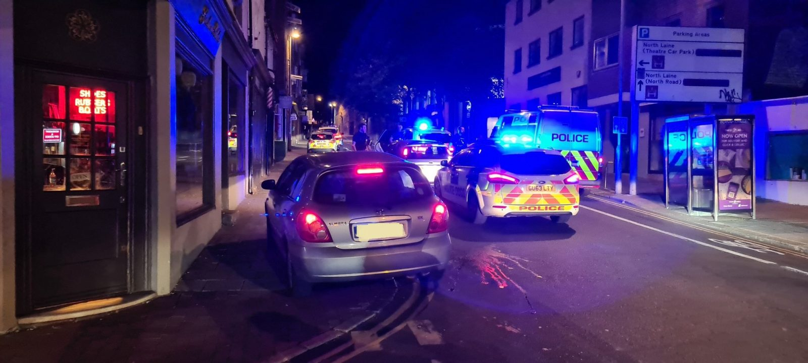 Two arrested after car with drugs marker is stopped in Brighton