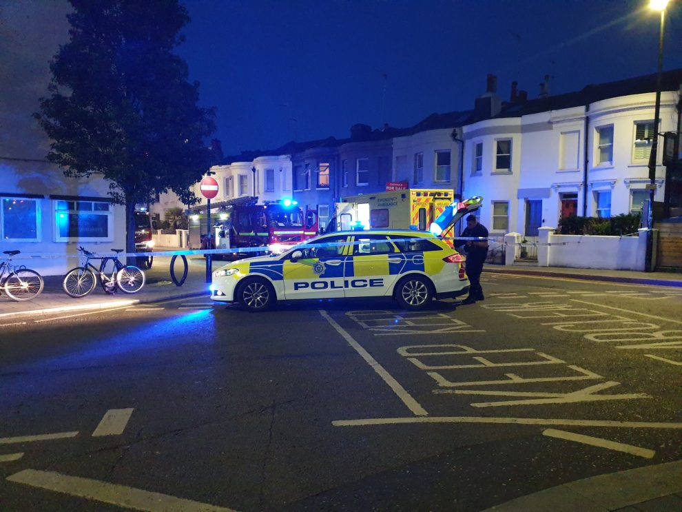 Brighton Street in lockdown following emergency services Incident