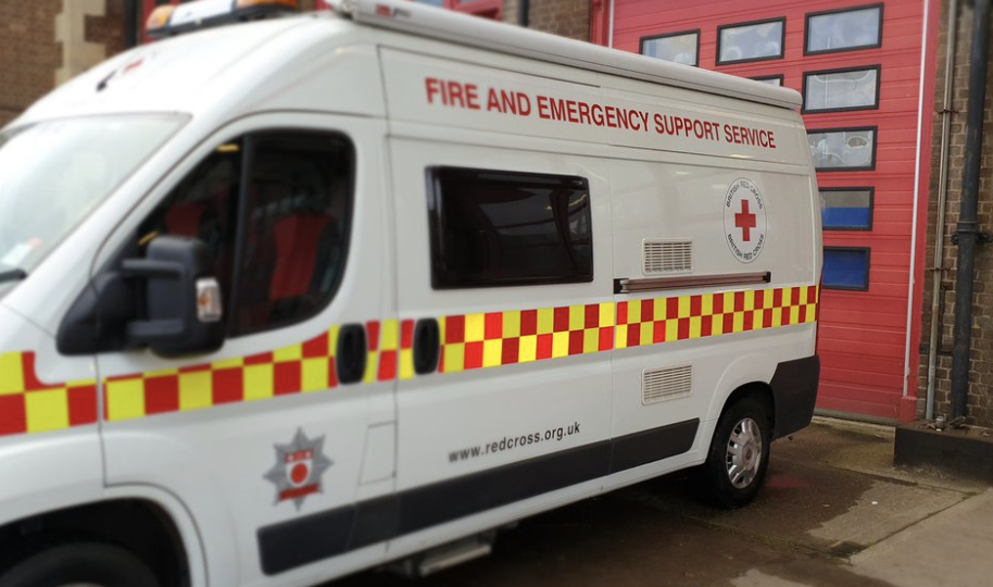 Of all the vehicles a thief would think about stealing, Red Cross volunteers in Northants say theirs should be low on the list
