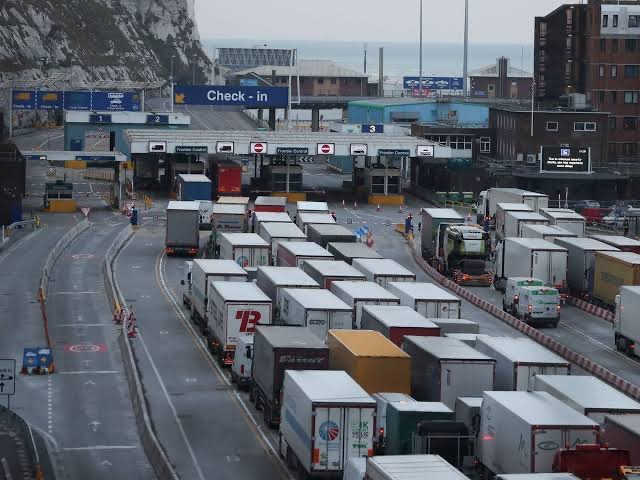 Operation Stack is now in place on the coast-bound carriageway of the M20 between Junctions 8 and 9 following a police operation at Kent ports