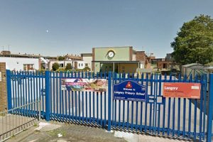 Police responding to reports of a man behaving inappropriately near two Eastbourne schools have made an arrest