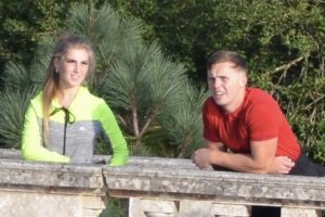 Police would like to speak to these two people about an incident in Sheffield Park Gardens, in Uckfield