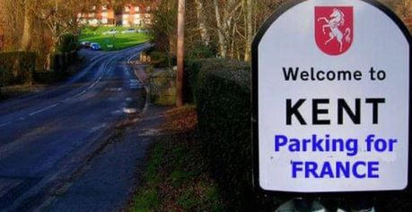 """The minister for the Cabinet Office told the House of Commons yesterday that lorry drivers would need a """"Kent access permit"""" (KAP) to get into the county"""
