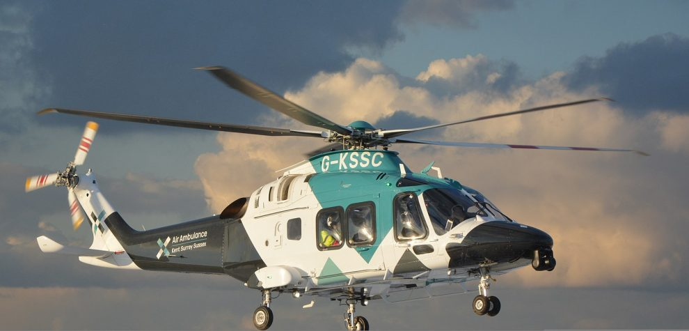 px Air Ambulance Kent Surrey Sussex Helicopter AW