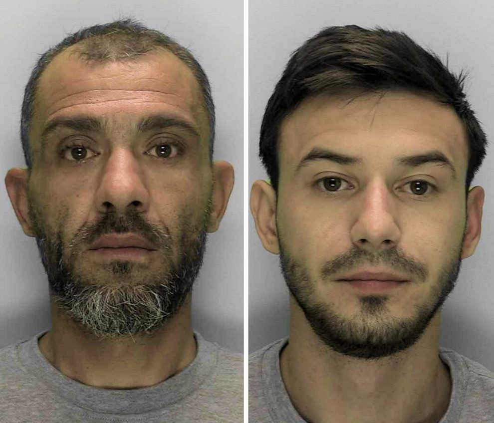 Currys PC World burglars jailed for four years