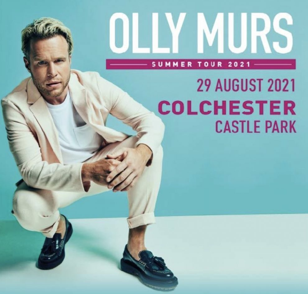 Exciting news that Olly Murs has announced a huge 25-date UK tour for next summer, with the final event at Colchester's Castle Park for his spectacular, homecoming show