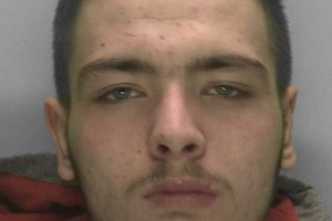 Jack Chambers, has been jailed for  robbery and possession of an imitation firearm with intent to cause fear or violence