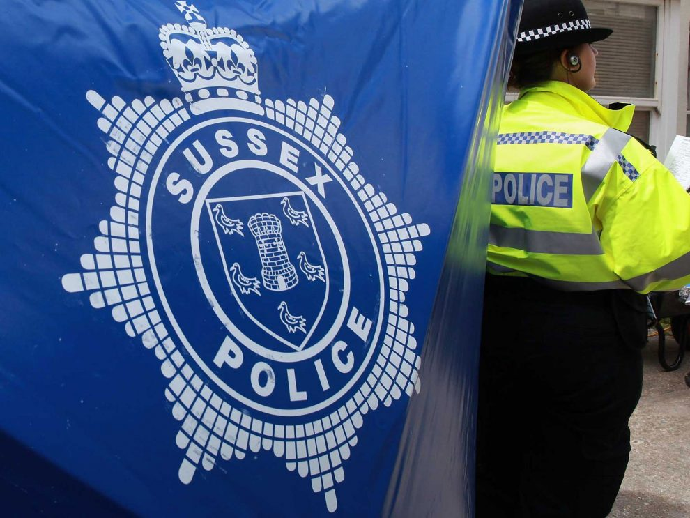 Police are appealing for witnesses after a man was assaulted in Crawley
