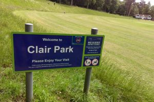 Police are appealing for witnesses after a teenage boy was robbed in Clair Park, Haywards Heath