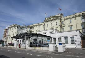 The man was taken to the Royal Sussex County Hospital, Brighton, for treatment after he was stabbed